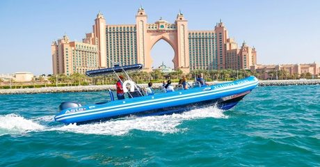 90-minute Jumeirah Palm Yacht Tour (Child AED 79