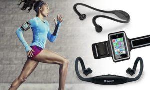 Bluetooth Headset and Armband Set