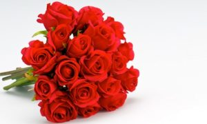 Bouquet with 10 Roses