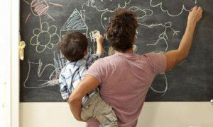 Chalkboard or Whiteboard Sticker
