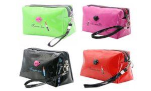 Clutch PU Leather Make-Up Bag