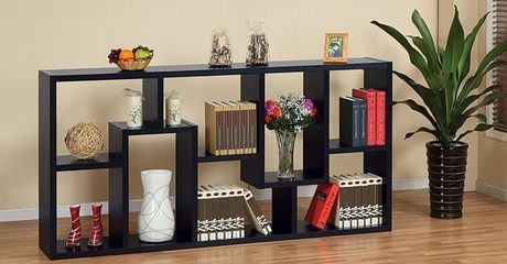 Contoured Leveled Display Cabinet