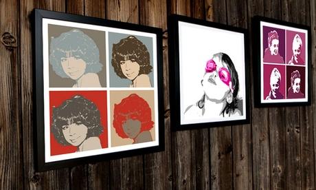 Customised Pop Art Canvas Print