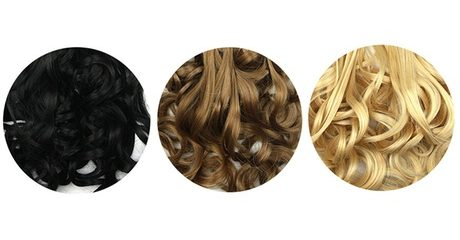 Eight Clip-In Hair Extensions