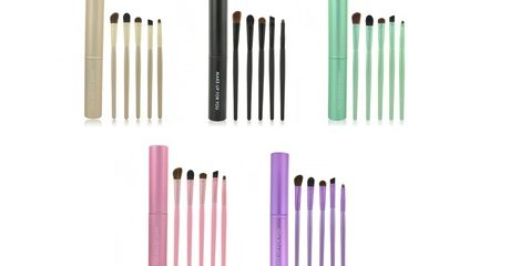 Five-Piece Eyeshadow Brush Set