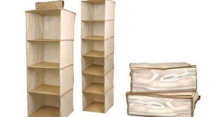 Four-Piece Closet Organisers