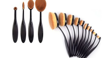 Four-Piece Make-Up Brush Set