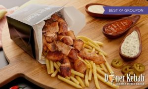 German Doner Kebab Box Meal