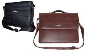Highflyer Leather Messenger Bag