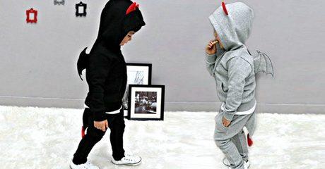 Kids' Devil Hoodie Set