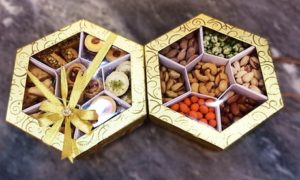 Nuts or Arabic sweets