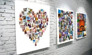 Personalised Photo Montage Canvas