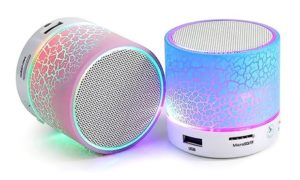 Portable Bluetooth LED Speaker