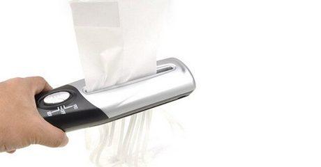 Portable Handheld Paper Shredder