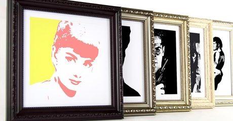 Regular or Large Pulp Fiction Canvas Prints