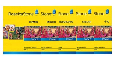 Rosetta Stone Course Software