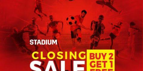 Stadium Closing Sale