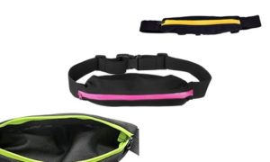 Three Running Belts With Pocket