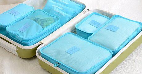 Travel Luggage Organiser Set