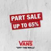 Vans Part Sale