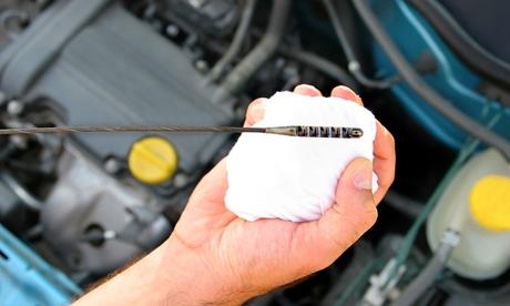 vehicle check  oil change  diagnostics test  aed   speed track garage
