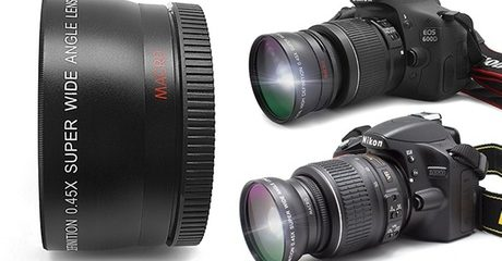 Wide Angle & Macro DSLR Lens Set