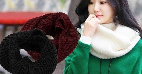 Woolen Infinity Scarf