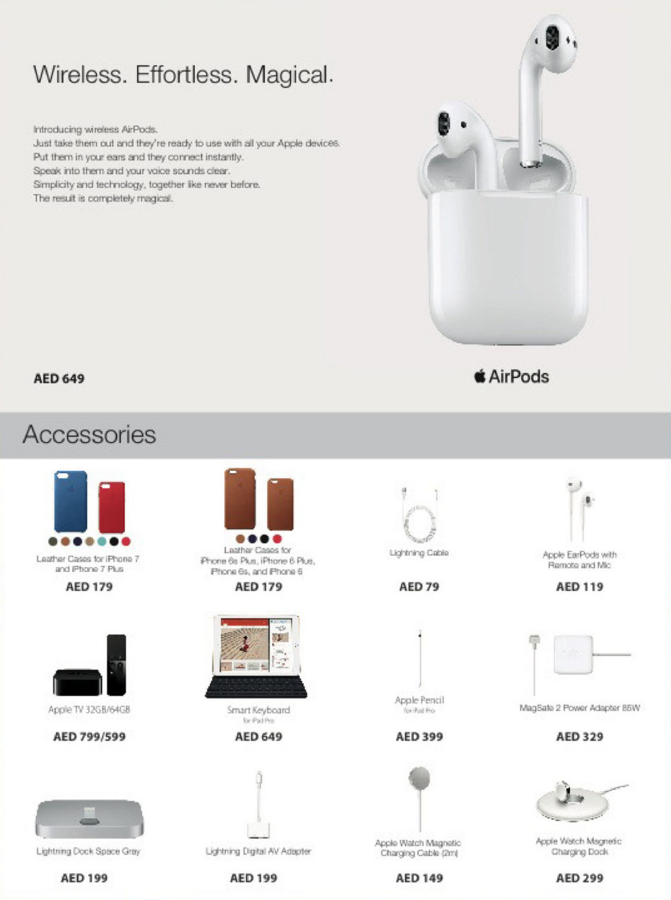 Apple Airpods And Accessories Dsf Offer At Jumbo