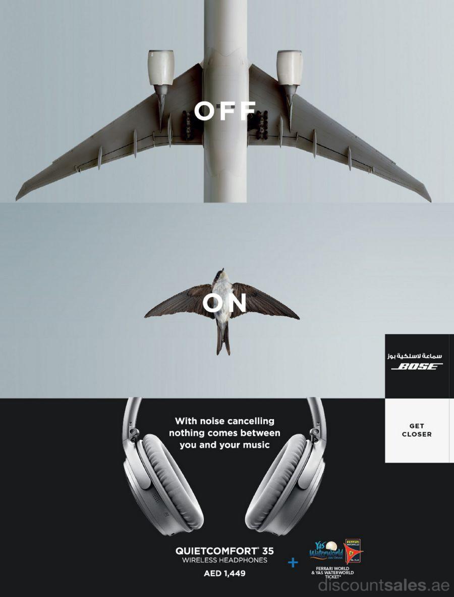 Bose Wireless Headphones Yas Waterworld Ferrari World