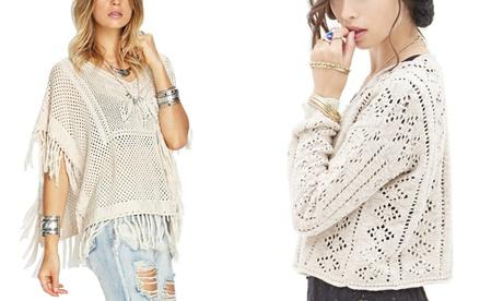 Hand-Crocheted Tops