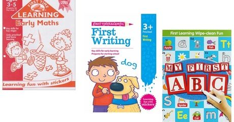 Workbook Bundles for 3-8 Years Old