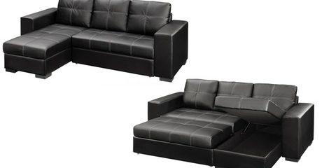 Liwa Sofa-Bed with Storage Chaise
