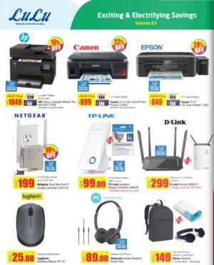 selected printers