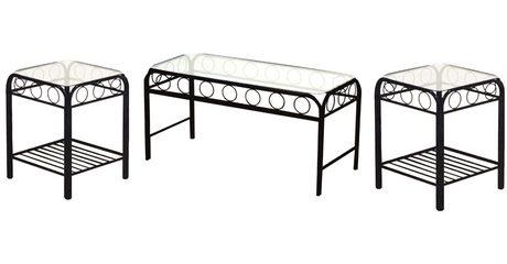 Three-Piece Coffee Table Set