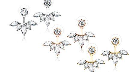 2-pairs of Petal Earrings