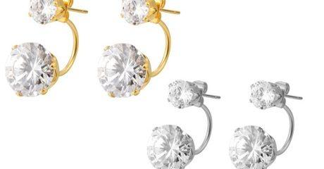 2 pairs of Swarovski Elements Earrings