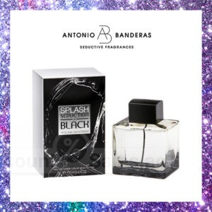 Antonio Banderas Splash in Black Men 100ml