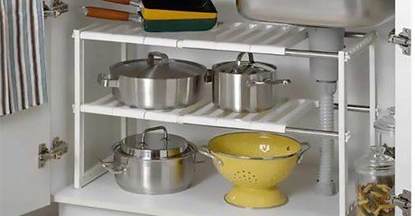 Adjustable Organiser Rack