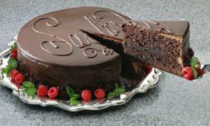 Cake at Ramada Hotel