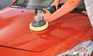 Car Polish With Engine Clean