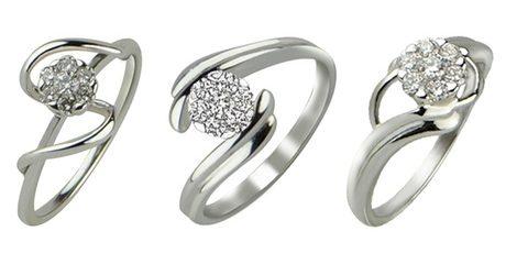 Coronet Diamond Rings