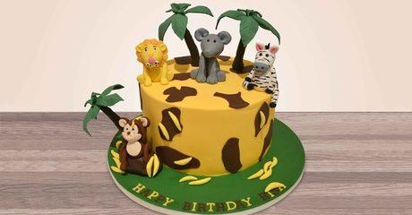 Cusotmized 3D Cakes at Hey sugar