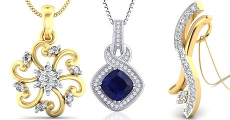 Diamond Pendants