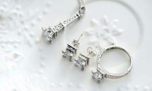 Eiffel Tower Jewelery Set