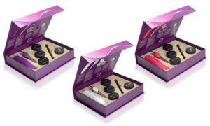 Eye Shadows and Tweezers Kit