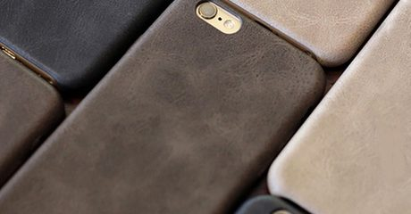 Faux Leather Cases for iPhone 6S