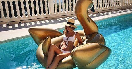 Floating Pool Swan or Cup Holders