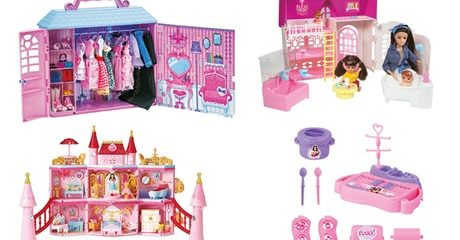Fulla Princess Fantasy Playsets