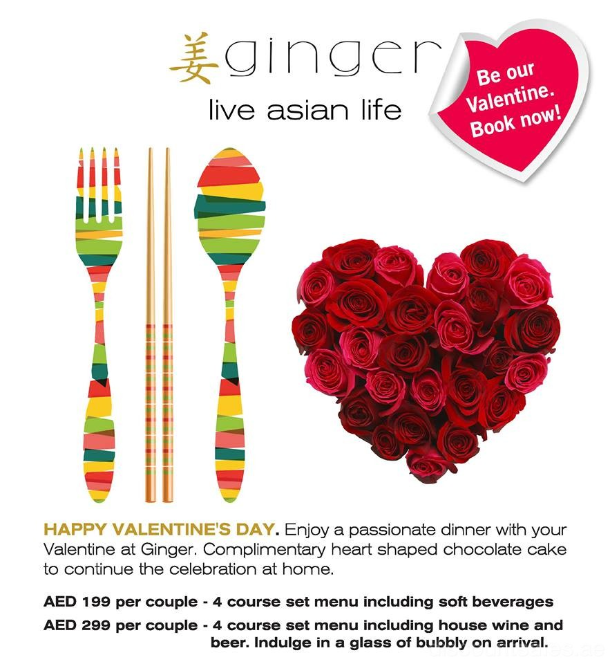 Ginger's Valentine's Day Special Offer