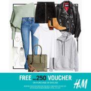 H&M FREE* AED 250 Voucher Promotion